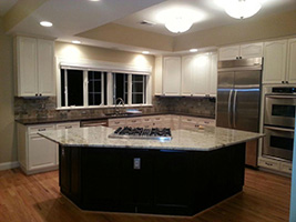 After Fairfax Kitchen Countertops Cabinets