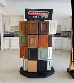 Campbell finish options