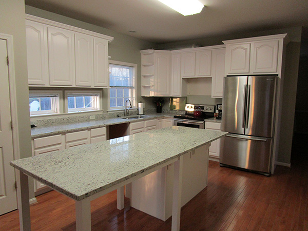 Kitchen Cabinet Refinishing After