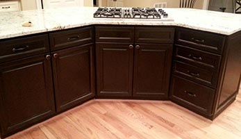brand new cabinets