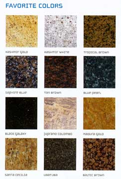 granite colors northern va
